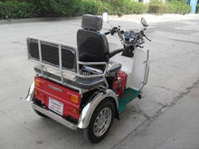 110cc mini tricycle handicapped disabled three wheel motorcycle for passenger SY110ZK-A
