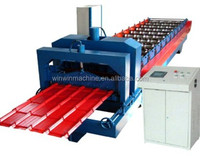 galvanized steel glazed tile roofing sheet roll forming machine