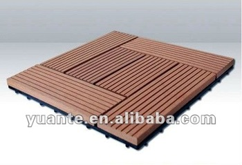 2012 Fashionable Household Product Wpc Floor Tile (Diy Deck tiles)001