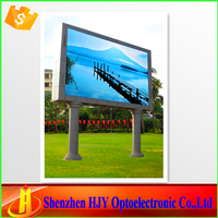 Wide viewing p6 outdoor smd display led tv