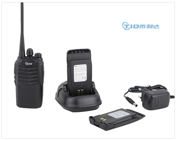 TD-V30 professional 5w portable encrypted security guard equipment two way radio