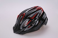 Sport helmet adult with PC cover , professional bicycle helmet with cool color , helmet with durable visor