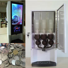 Hot selling 3 drinks automatic coffee vending machine price