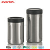 Everich 12oz 16oz vacuum insulated stainless steel can cooler
