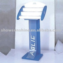 2011-240 cosmetic display stand rotating watch display case