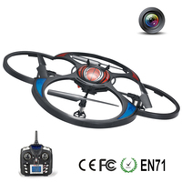 4CH 2.4G long range flying propel plastic rc helicopter with hd camera