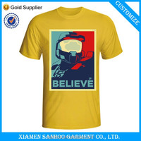 Custom Made Wholesale Price Printed Graphic Election Tee Shirts For Political Event