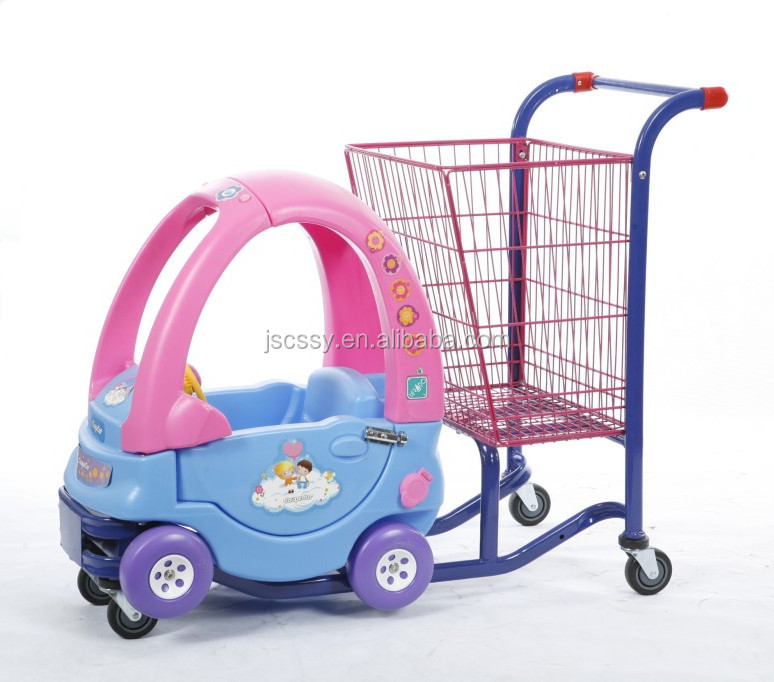 Kids shopping trolley/supermarket Shopping toy car shopping trolley/cart