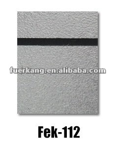 ABS double color sheet(metal surface)