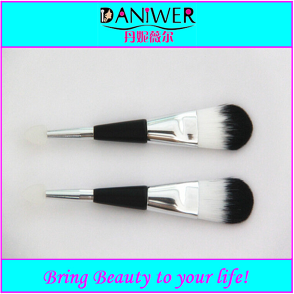 11pcs High quality flat Makeup Brush wood handle sets with factory price
