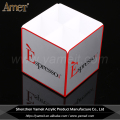 Factory Wholesale Custom Logo White Acrylic Sugar Holder