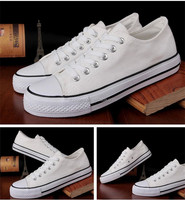 white canvas lace up shoes for men