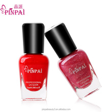 PinPai brand 36 Colors nail polish wholesale bulk private label gel nail polish