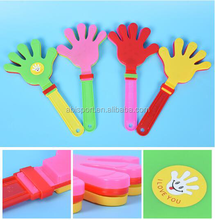 plastic toy cheering hand clap noise maker toy