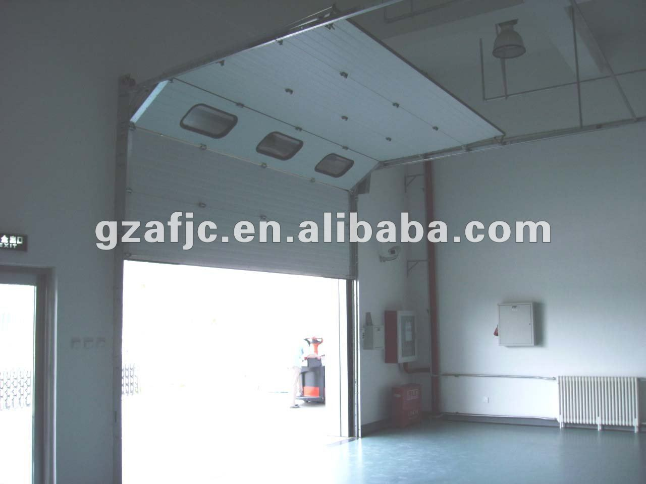 Guangzhou sectional garage doors