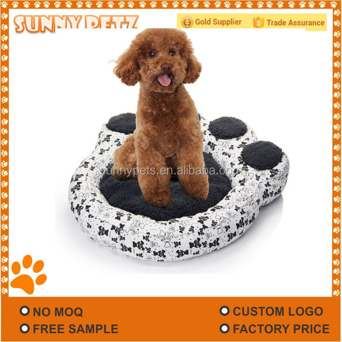 Hand Design Round Shape Pet Cat Bed for Cats and Small Dogs