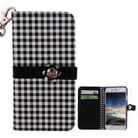 China suppliers 4.3 inch leather phone case