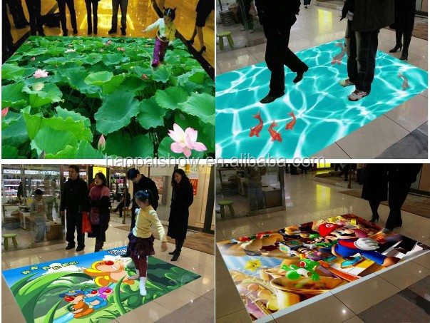 Fast Selling Interactive Floor System Projection for Kids Games