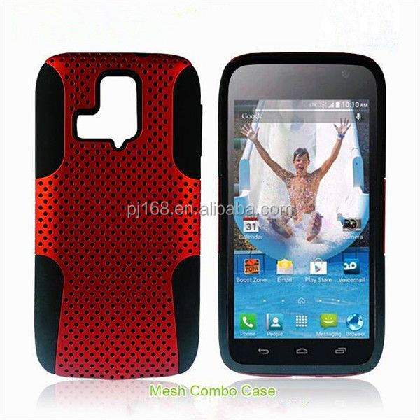 new product toolbox hybrid combo mesh case for Nokia lumia 610