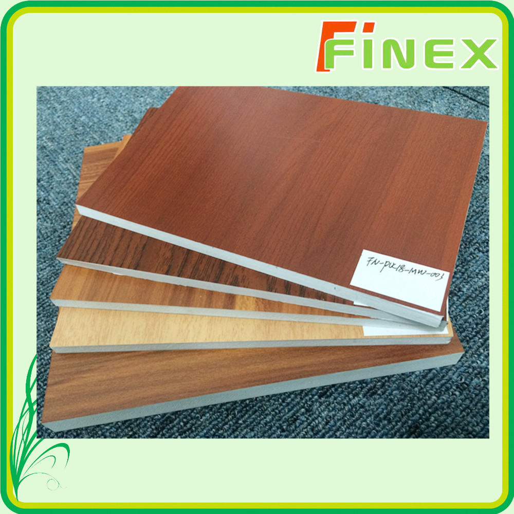 construction materials wooden design PVC sheet for furniture coating