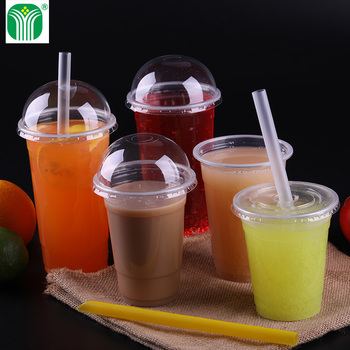 logo printed pp material disposable plastic cups