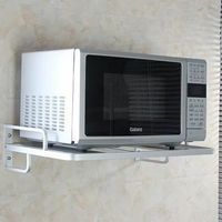 Wall Microwave Oven Holder Microwave Oven Grill Rack Kitchen Storage Holders and Racks
