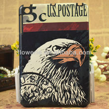 FL683 wholesale High quality animal pattern design case for ipad mini PC leather case For iPad mini