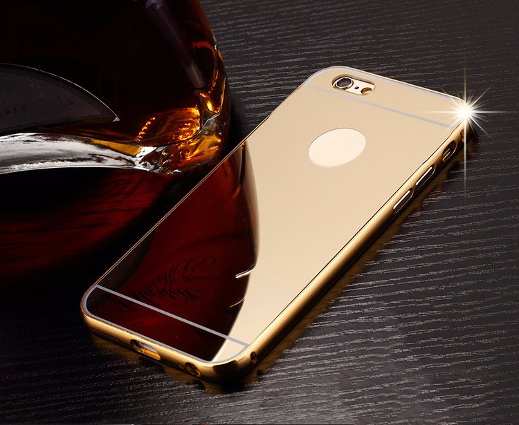 Trendy design Acrylic TPU Mirror Phone case for iphone 6S case