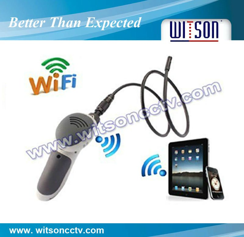 Witson wifi industrial endoscope camera 8mm extendable connector(W3-CMP3813WX)