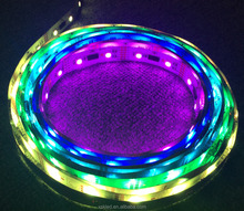 DC5V or DC12V 5050 lpd 8806 flexible addressable rgb led strip