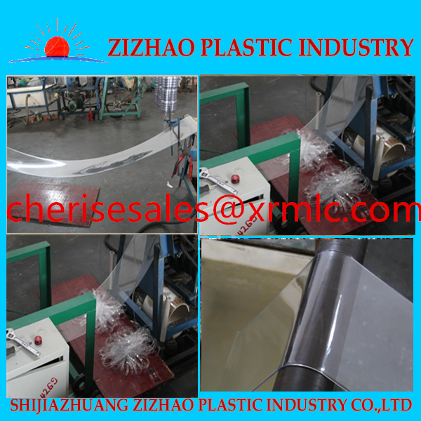 Soft clear pvc industrial plastic roll curtain