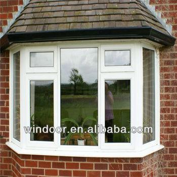 Vinyl single hung window double pane bay window buy bay for Vinyl bay window