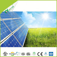 Cost effective solar panel 100W mono PV for ground mount solar panel system
