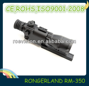 night vision riflescope ,Gen1+ cheapest hunting scope of Professional manufacturer ,rifle scope with night vision