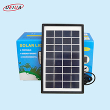 High quality portable solar panel kit 3W solar panel energy kits for home lighting system