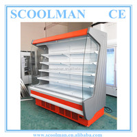 Supermarket Multideck Red Refrigerator for Drinks
