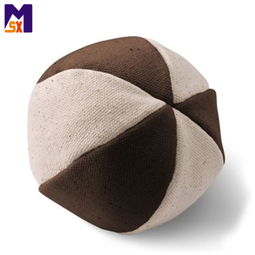 Custom pet toy canvas dog toy stuffed toy ball