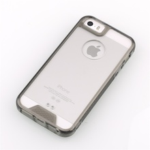 Transparent clear Acrylic mobile phone cover case for iphone 5 case man