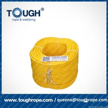 Uhmwpe Synthetic Braided Fishing Lines in Yellow color