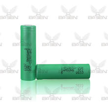 Authentic 18650 2500mah green 25r samsung Lithium batteries battery cell 18650 samsung inr18650-25r