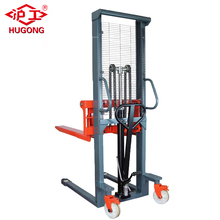Best price 2T lifter truck manual pallet jack hand pallet stacker for sale