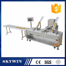 Stable speed one line cheese/jam/cream filling cookies biscuit sandwiching production line
