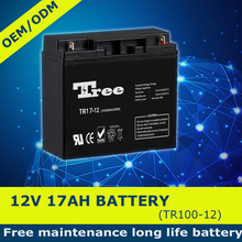 12v 17ah sealed lead acid battery rechargeable ups battery 20hr battery 7ah 12ah 20ah 50ah etc