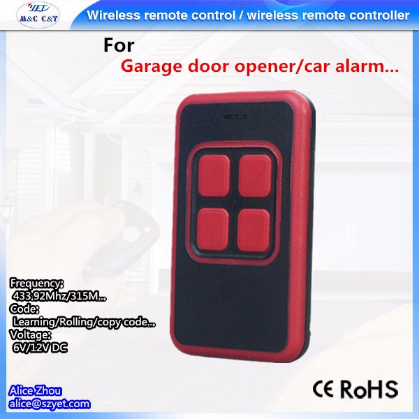 YET2113 Gates Oponer Control Remote Auto Openers Gate Transmitter
