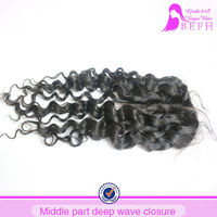 virgin hair weave lace closure eurasian hair