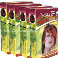 YANCEY nourishing , 100%gray coverage hair dye