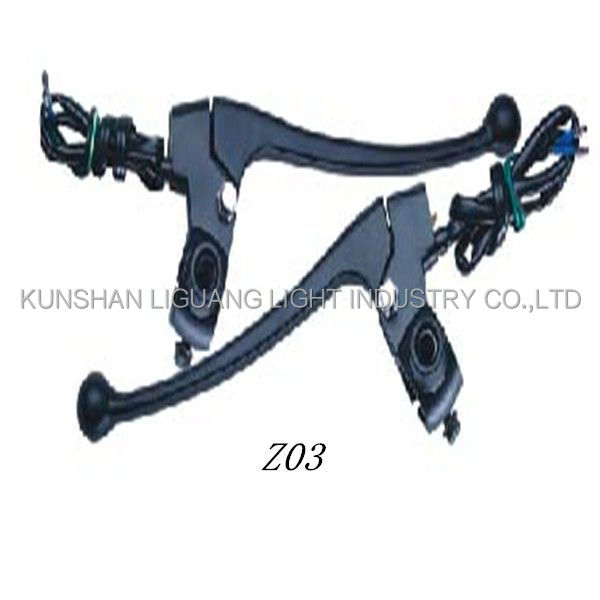 motorcycle brake lever assy