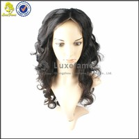 2014 New Fashionable Full Lace Virgin Brazilian 100% Human Hair Wigs