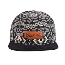 5 panel cheap custom suede wholesale snapback hats
