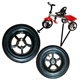 High quality children tricycle rubber wheels